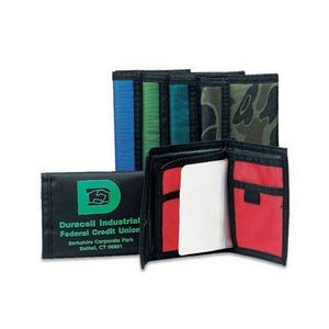 "Nylon-upgrade smooth Bifold Wallet (4.75""x3.5"")"